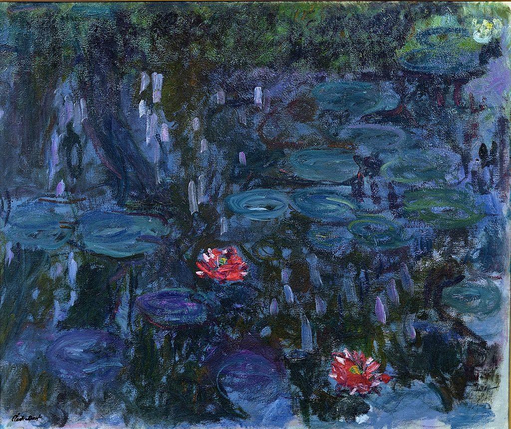 Nymphéas_reflets_de_saule_1916-19