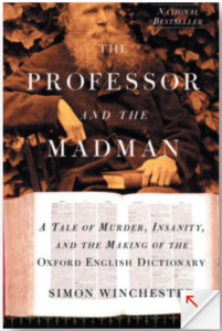 Simon Winchester The Professor and the Madman Cover